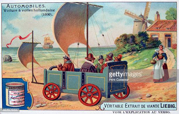 Dutch Automobile French advertising for Liebig Extract of Meat Private Collection