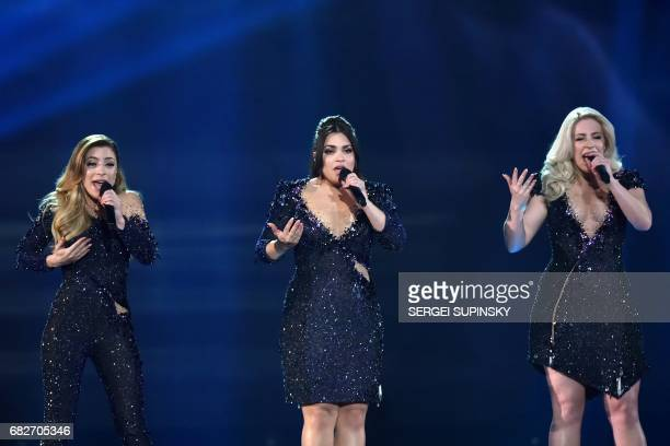 Dutch band representing Netherlands with the song 'Lights and shadows' OG3NE composed by three sisters Amy Vol Shelley Vol and Lisa Vol perform on...