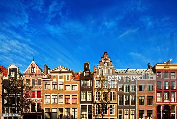 Dutch maisons de Canal à Amsterdam