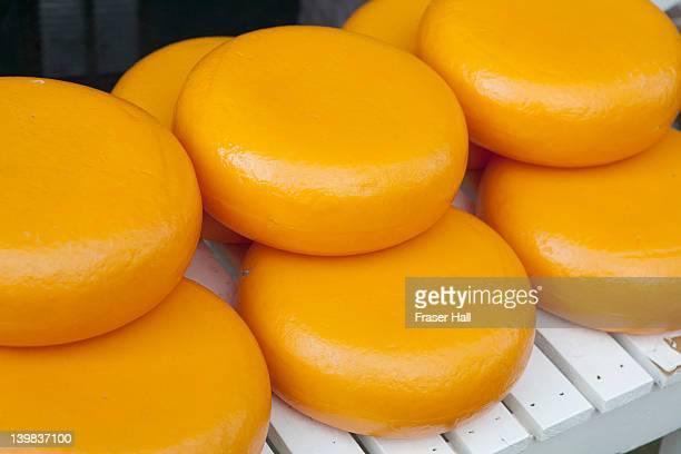 Dutch cheeses, Amsterdam, Netherlands