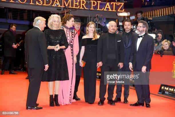 Dutch director Paul Verhoeven Tunisian producer Dora Bouchoucha Fourati US actress Maggie Gyllenhaal Director Etienne Comar German actress Julia...