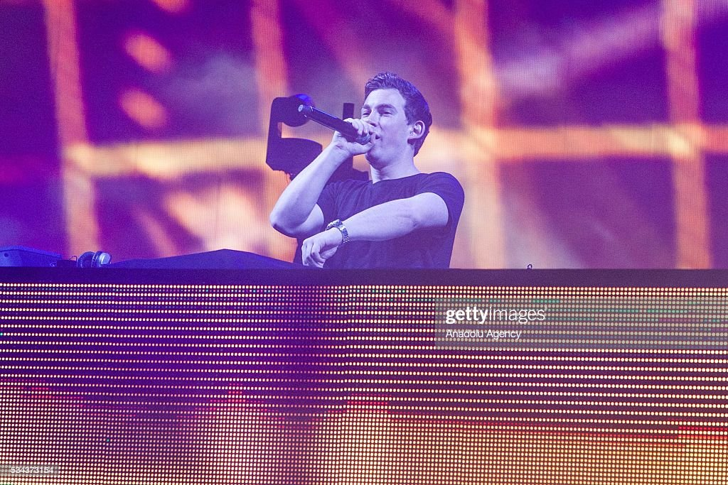 Dutch DJ Hardwell (Robbert van de Corput) performs during the 15th International Mawazine Music festival at OLM Souissi in Rabat, Morocco on May 25, 2016.
