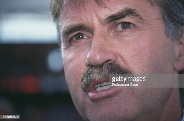 Dutch former player and manager of the Netherlands national football team Gus Hiddink pictured during the UEFA Euro 1996 European Football...
