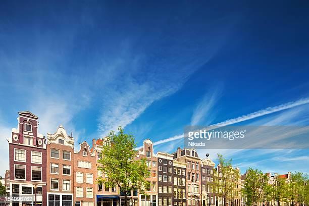 Niederländische Häuser in Amsterdam