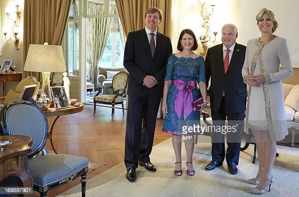 Los reyes se reunieron en la villa eikenhorst con el for De koning interieur