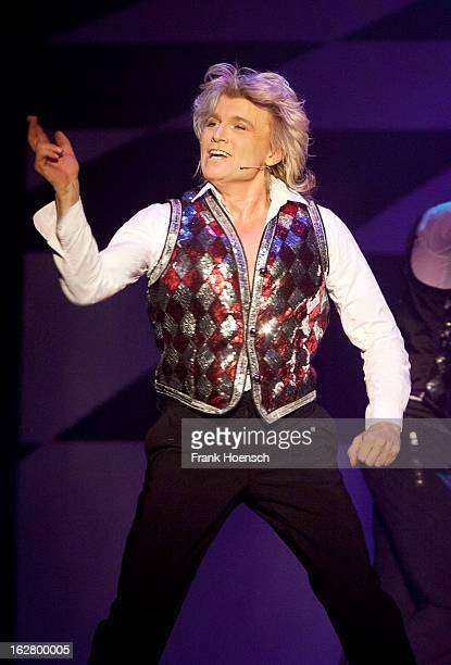Dutch magician Hans Klok performs live during his show 'The Houdini Experience' at the Admiralspalast on February 27 2013 in Berlin Germany