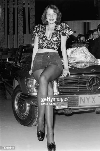 Dutch model and actress Sylvia Kristel the Dutch contestant in the Miss TV Europe competition 4th January 1973 She won and went on to win...