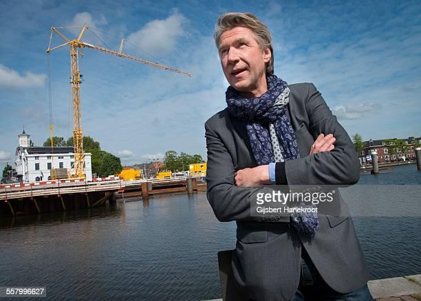 Dutch musician Frank Boeijen portrait Zaandam Netherlands 21st May 2015