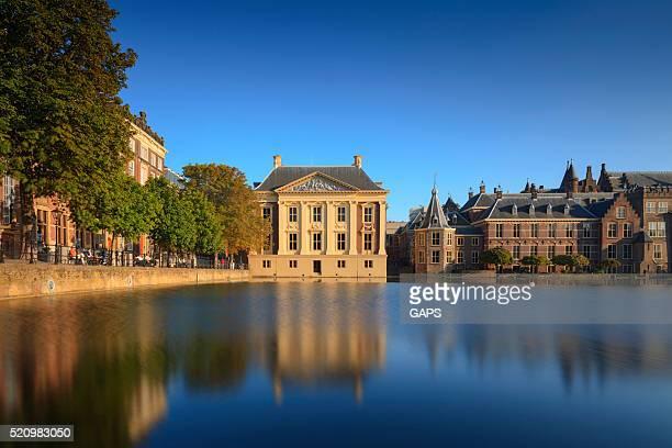 Holandés edificios del Parlamento en La Haya