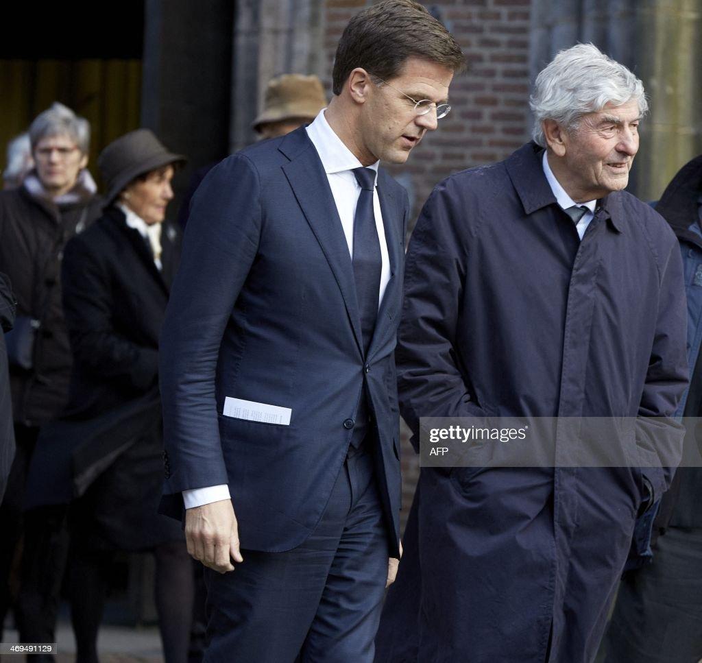 Maurits Hendriks Netherlands Prime Minister Mark Rutte L: Getty Images