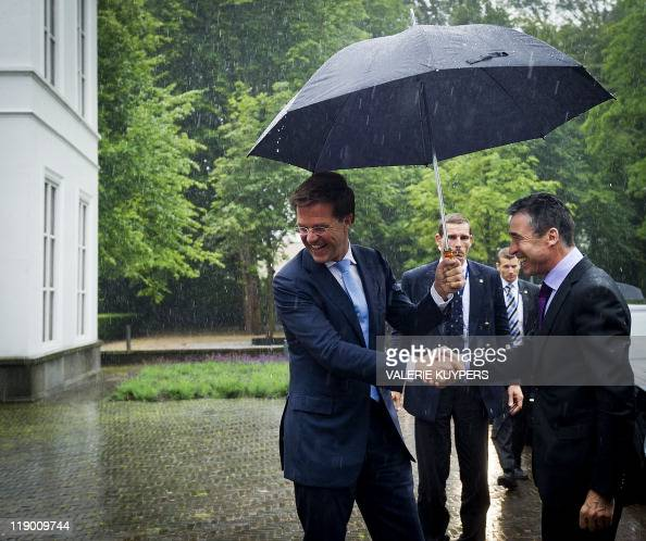 Maurits Hendriks Netherlands Prime Minister Mark Rutte L: Valerie Anders Stock Photos And Pictures