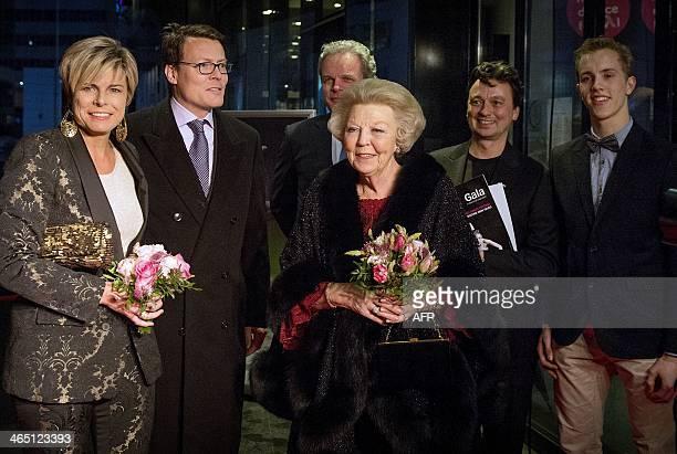 Dutch Princess Laurentien Prince Constantijn Holland Dance chairman Joost van der Does de Willebois Princess Beatrix Holland Dance director Samuel...