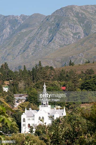 Dutch Reform Church on the Garden Route Swellendam South Africa