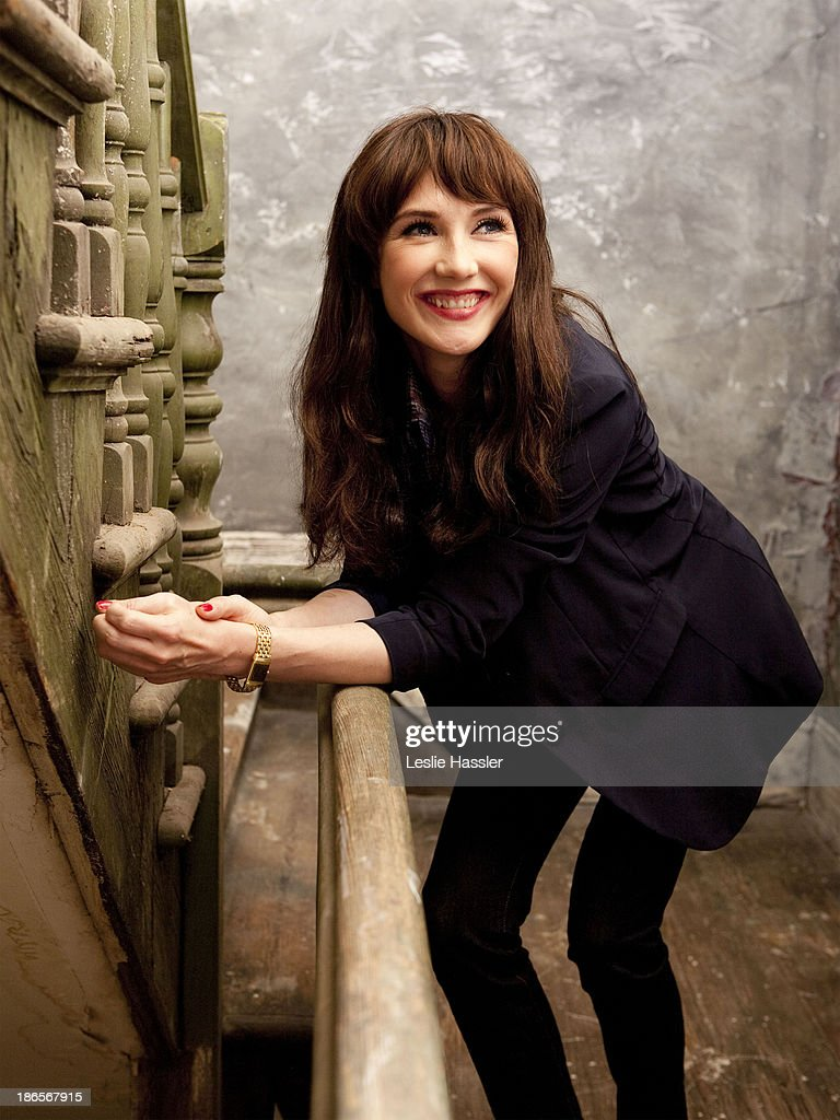 Dutch singer and actress Carice Van Houten is photographed for Self Assignment on April 25, 2011 in New York City.