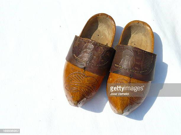 Dutch traditional and antique clogs