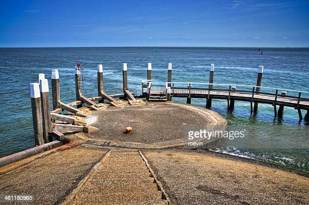 Dutch waddenzee dock