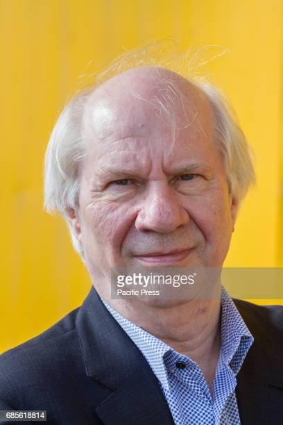 Dutch writer Jan Brokken portrayed during 2017 Turin Book Fair