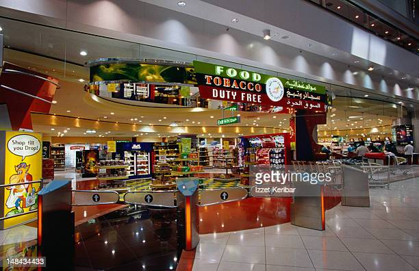 Duty Free Shop at Dubai Airport.