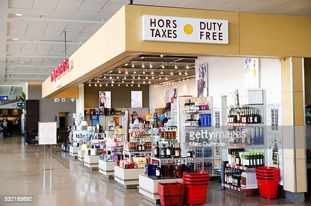 Negozio Duty Free a Montreal airport