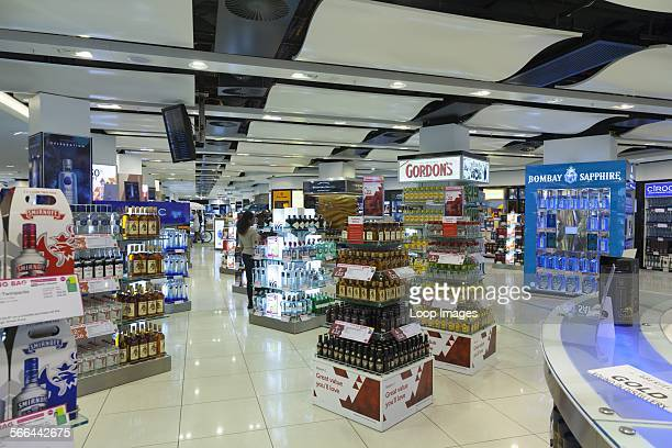 Duty free shops at Gatwick South Terminal