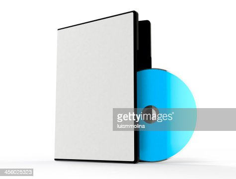 Dvd Box Isolated