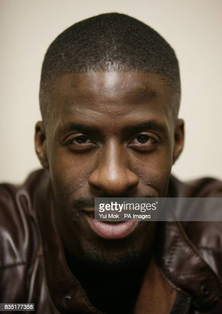 Dwain Chambers during a signing and QA session for the launch of his autobiography 'Race Against Me My Story' at Centerprise bookshop in Dalston east...