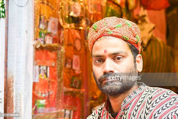 Dwarkadhish Temple is located on the main road of Mathura and is very near the banks of the River YamunaHoli songs were in full swing by Braj Fag...