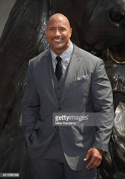 Dwayne Johnson attends a photocall for 'Hercules' on July 2 2014 in London England