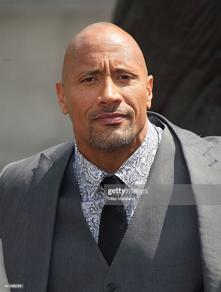 Dwayne Johnson attends a photocall for 'Hercules' on July 2, 2014 in London, England.