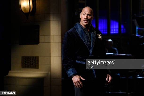 LIVE 'Dwayne Johnson' Episode 1725 Pictured Dwayne Johnson during 'Opening Monologue' in Studio 8H on May 20 2017