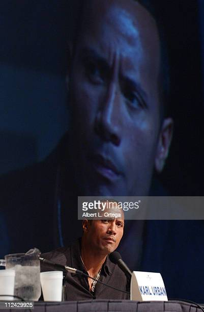 Dwayne 'The Rock' Johnson during 36th Annual ComicCon International Day Four at San Diego Convention Center in San Diego California United States
