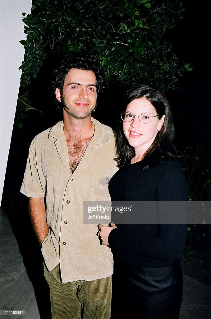 Dweezil Zappa and wife Lisa Loeb during 1998 Fairway to Heaven Golf Tournament in Las Vegas, Nevada, United States.