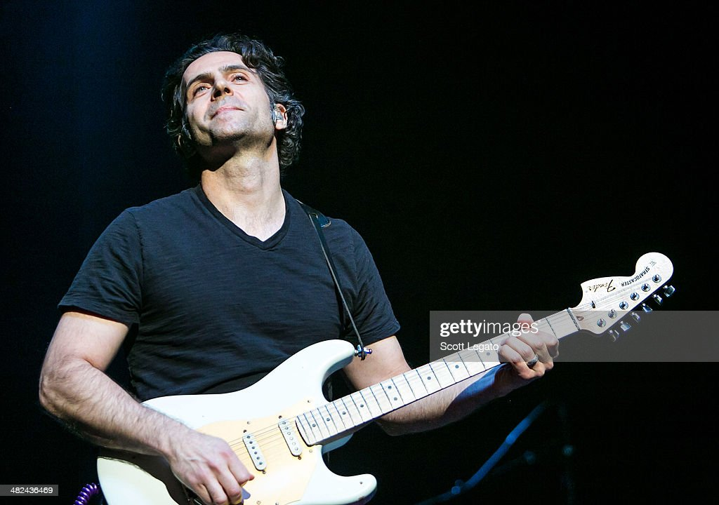 Dweezil Zappa performs during the Experience Hendrix 2014 Tour at The Fox Theatre on April 3, 2014 in Detroit, Michigan.