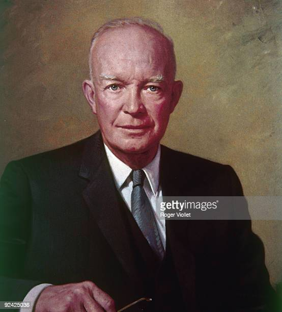 Dwight David Eisenhower American General and statesman president of the United States from 1953 to 1961