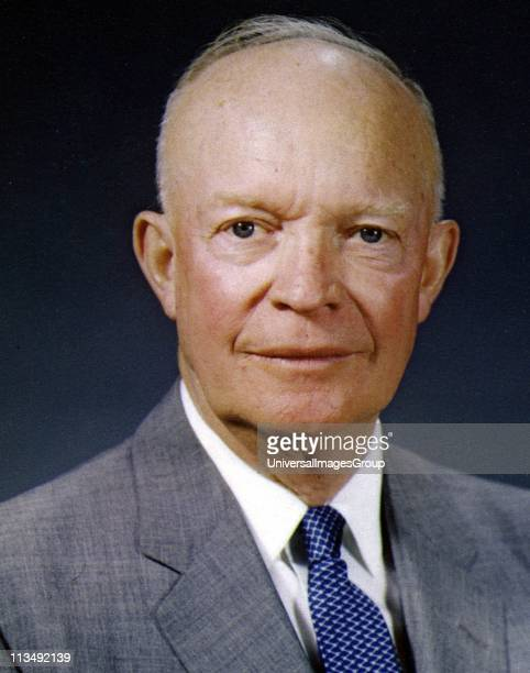 Dwight David 'Ike' Eisenhower American soldier and 34th President of the United States 19531961 In Second World War served as Supreme Command of...