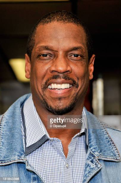 Dwight 'Doc' Gooden appears as a guest chef at Sofrito on December 14 2010 in New York City