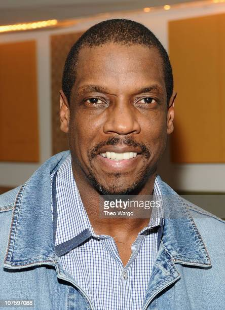 Dwight 'Doc' Gooden appears as a guest cook at Sofrito on December 14 2010 in New York City