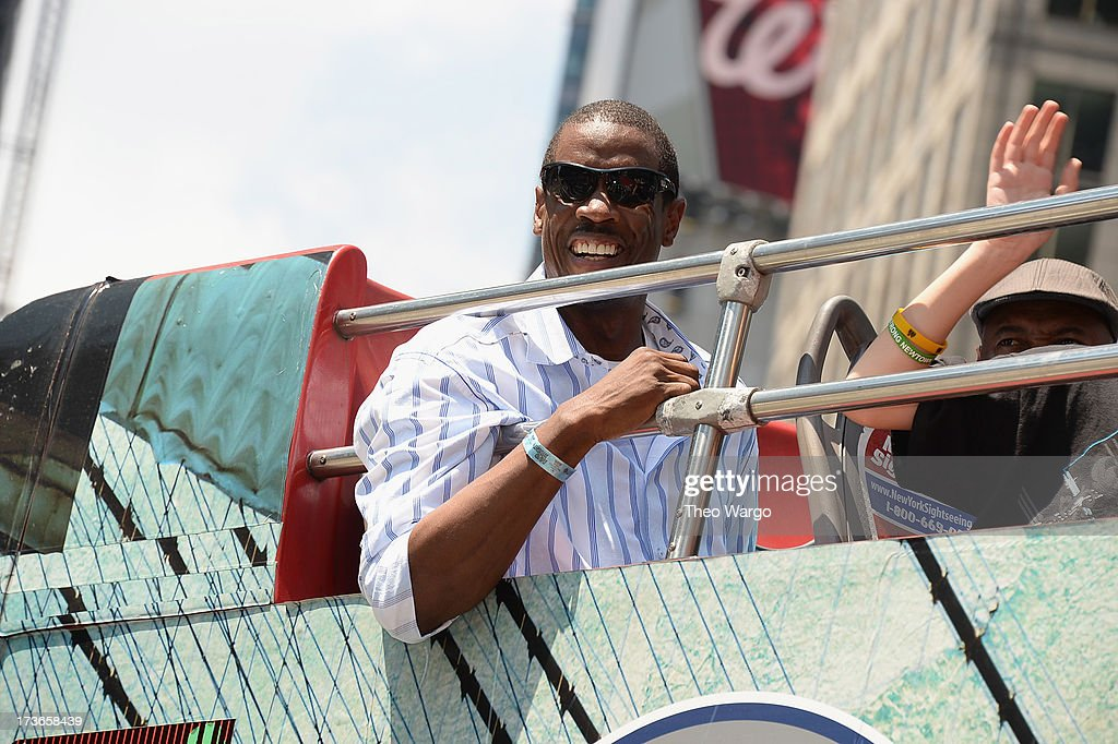 Dwight Gooden attends the MLB All-Star Game Red Carpet Show Presented by Chevrolet on July 16, 2013 in New York City.