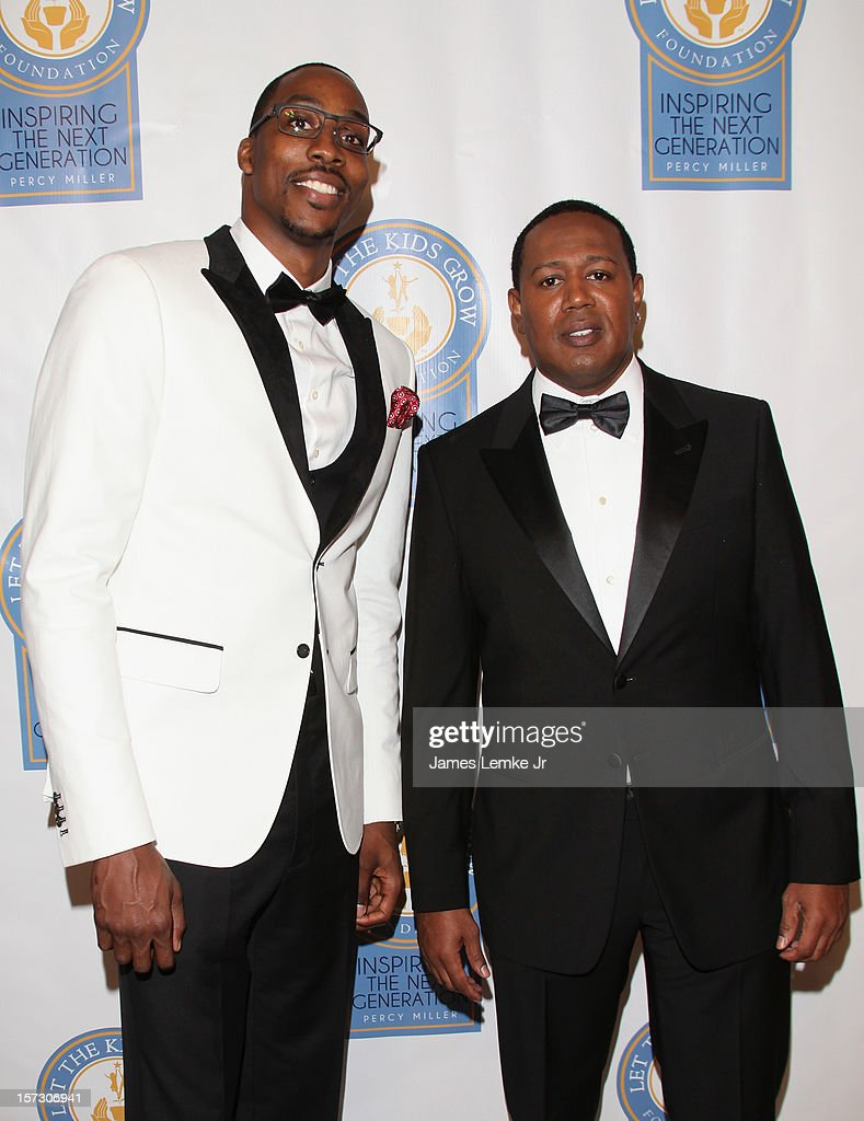 Dwight Howard and Master P attend the Let The Kids Grow 2012 Inaugral Holiday Gala held at the Beverly Wilshire Four Seasons Hotel on December 1, 2012 in Beverly Hills, California.