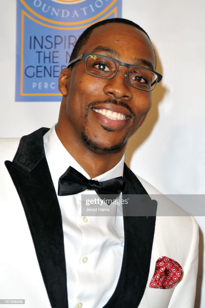 <a gi-track='captionPersonalityLinkClicked' href=/galleries/search?phrase=Dwight+Howard&family=editorial&specificpeople=201570 ng-click='$event.stopPropagation()'>Dwight Howard</a> arrives at Let The Kids Grow Foundation Holiday Gala at the Beverly Wilshire Four Seasons Hotel on December 1, 2012 in Beverly Hills, California.