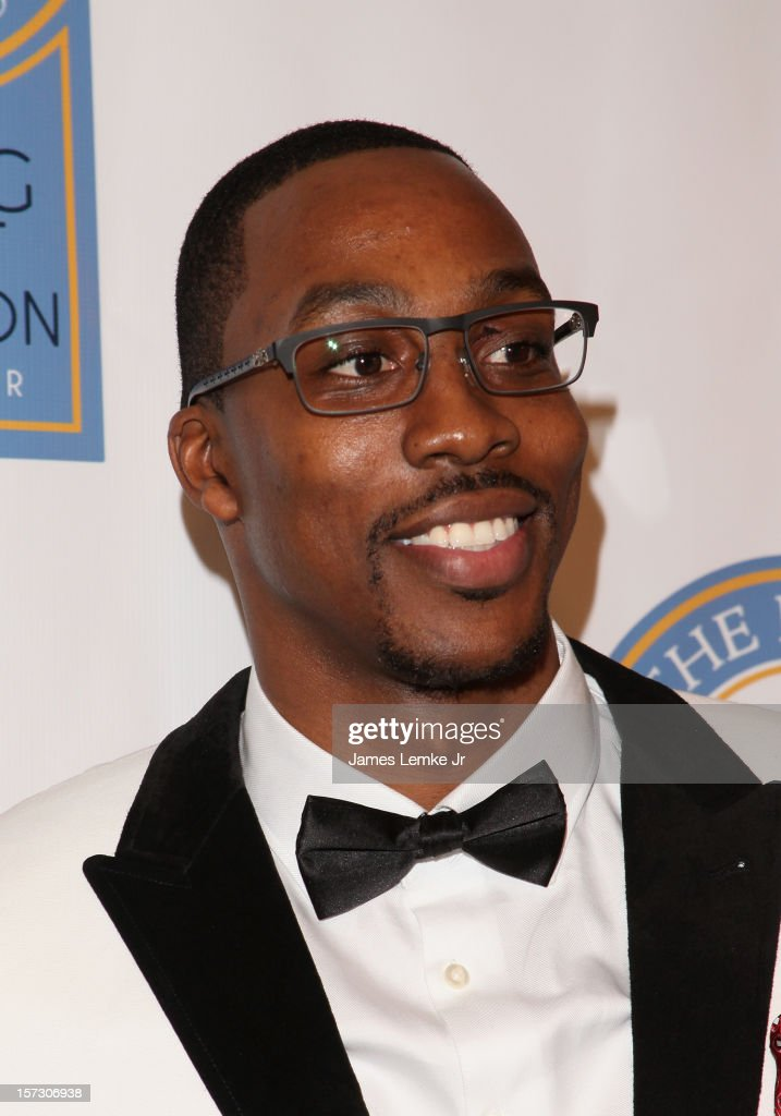 Dwight Howard attends the Let The Kids Grow 2012 Inaugral Holiday Gala held at the Beverly Wilshire Four Seasons Hotel on December 1, 2012 in Beverly Hills, California.