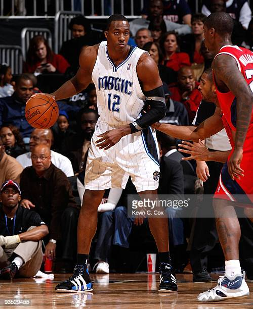 Dwight Howard of the Orlando Magic against the Atlanta Hawks at Philips Arena on November 26 2009 in Atlanta Georgia NOTE TO USER User expressly...