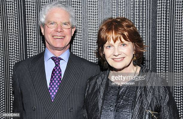 Dwight Lee and Blair Brown attends Yaddo's New York City benefit at The Edison Ballroom on May 14 2014 in New York City