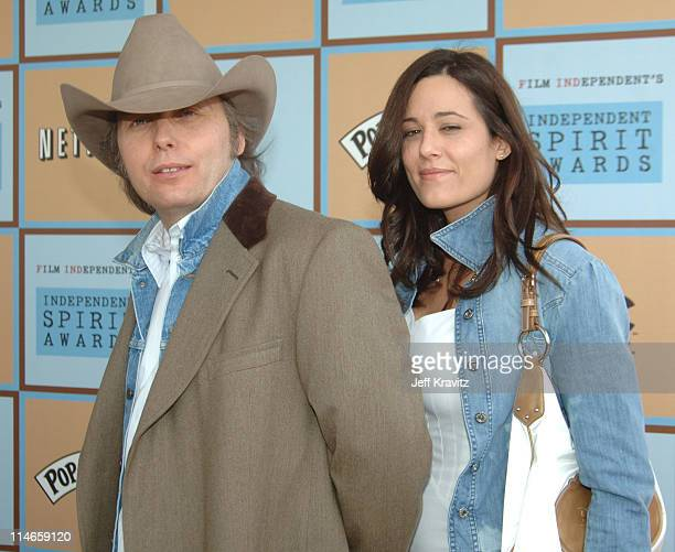 Dwight Yoakam and guest during Film Independent's 2006 Independent Spirit Awards Arrivals in Santa Monica California United States