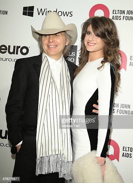 Dwight Yoakam arrives at the 22nd Annual Elton John AIDS Foundation's Oscar viewing party held on March 2 2014 in West Hollywood California