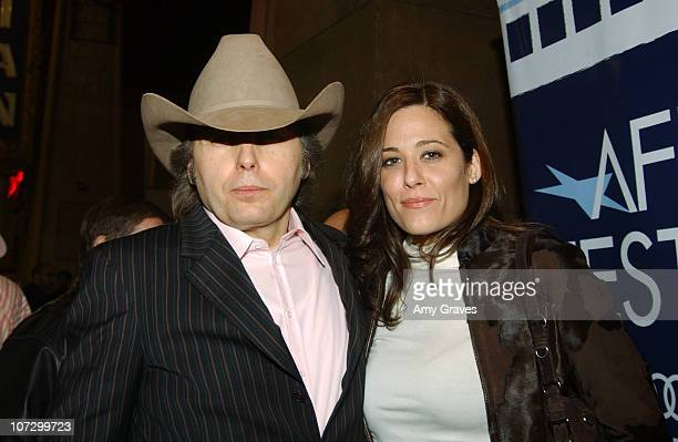 Dwight Yoakam during AFI Fest 2005 Centerpiece Gala Presentation of 'The Three Burials of Melquiades Estrada' Red Carpet at Egyptian Theatre in...