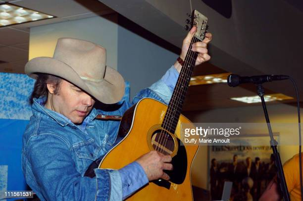 Dwight Yoakam during Dwight Yoakam InStore Performance at the Lincoln Center Tower Records June 20 2005 at The Lincoln Center Tower Records in New...