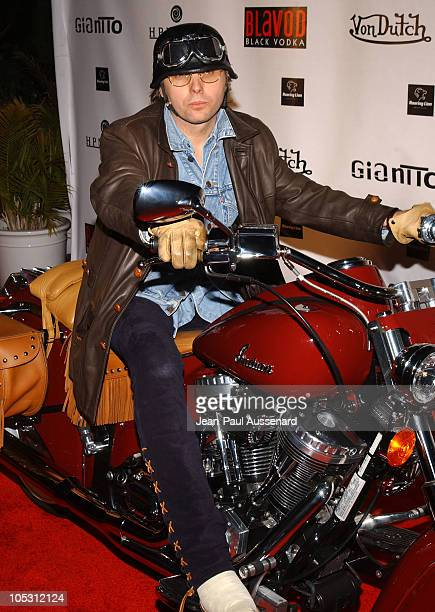 Dwight Yoakam during Von Dutch Designer Christian Audigier's Birthday Celebration at Private residence in Hollywood California United States