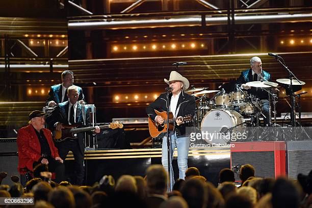 Dwight Yoakam performs onstage at the 50th annual CMA Awards at the Bridgestone Arena on November 2 2016 in Nashville Tennessee