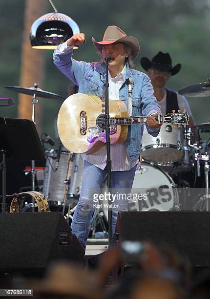 Dwight Yoakam performs onstage during 2013 Stagecoach California's Country Music Festival held at The Empire Polo Club on April 27 2013 in Indio...